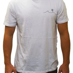 Palm Wave T-Shirt White