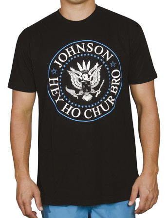Sticky Johnson Hey Ho Chur Bro T-Shirt – Black