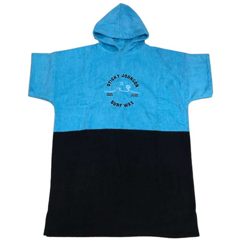 Hooded Palms Towel Blue/Black – Kids & Teens
