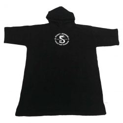 Hooded Serpent Towel Black – Kids & Teens