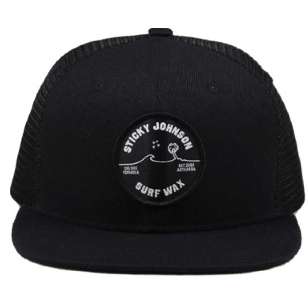 Southern Cross Trucker Cap – Black